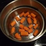 Carottes vapeur : Etape 5