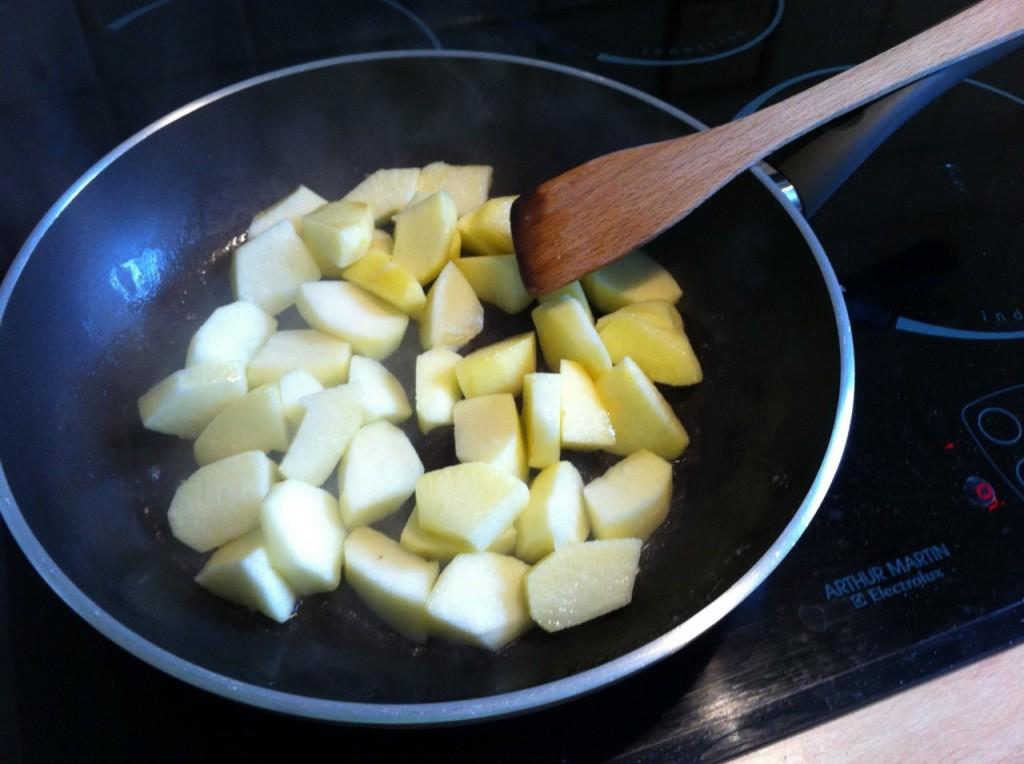 Boudin aux pommes : Etape 4