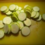 Courgette au -micro-ondes : Etape 2