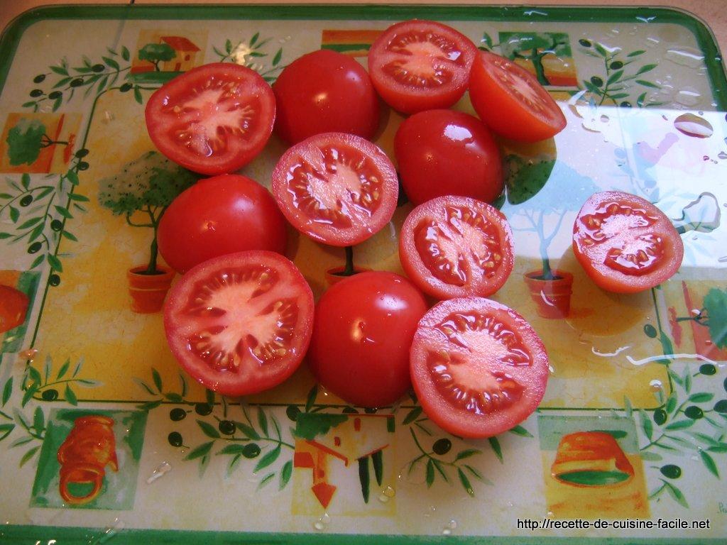 Tomates poêlées à la provençale : Etape 3