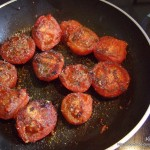 Tomates poêlées à la provençale : Etape 8
