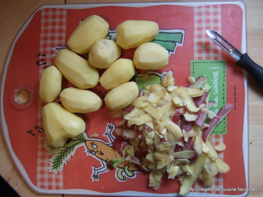 Pommes de terre sautées : Etape 2