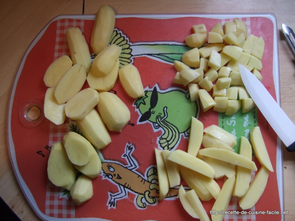 Pommes de terre sautées : Etape 3