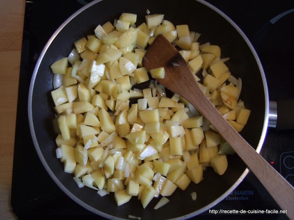 Pommes de terre sautées : Etape 8