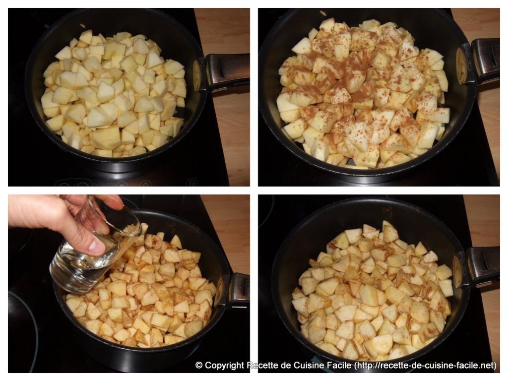 Compote de pomme (traditionnelle) : Préparer les pommes