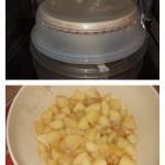 Compote de pomme (express) : Cuire les pommes